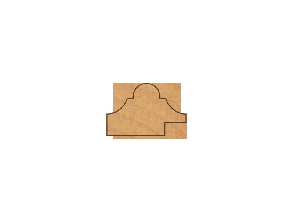 Molduras para enmarcar puertas y paneles de madera Ref.-0-43