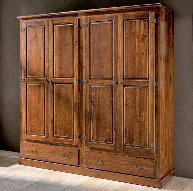Elegante mueble rustico de nogal, principal destino de la madera de nogal